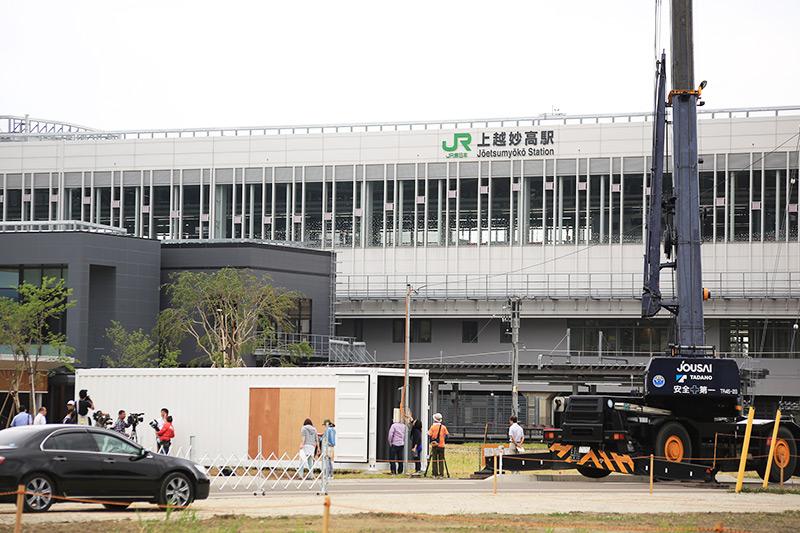 駅前開発の新しいスタイルの「コア施設」を目指す(2015年夏)