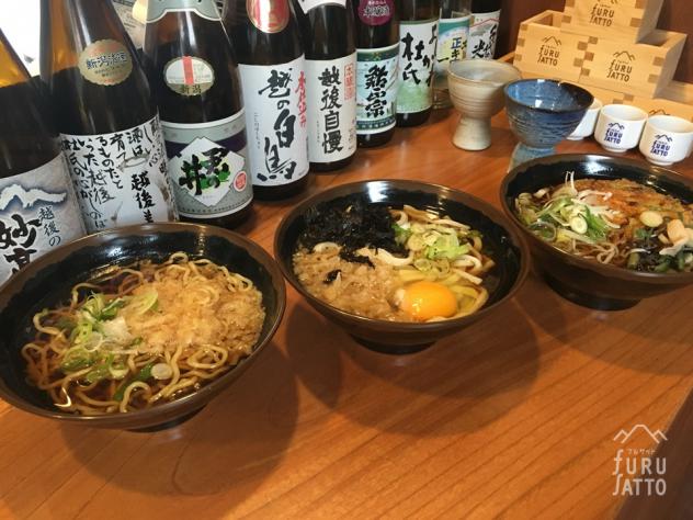 <お昼>上越妙高駅の「駅そば」店